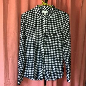 J. Crew boy fit button up